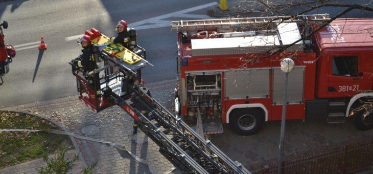 Ćwiczenia przeciwpożarowe w Szpitalu