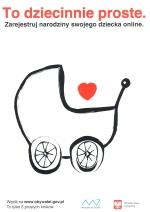 Zarejestruj narodziny swojego dziecka online.